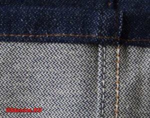 Джинсовая ткань Ломаная саржа