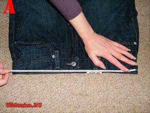Как определить свой размер джинсов