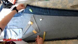 Как ушить джинсы