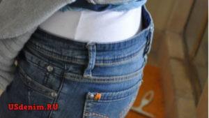 Как подогнать джинсы по фигуре