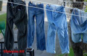 Как стирать брендовые джинсы