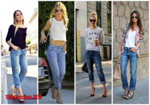 Как выбрать обувь к укороченным джинсам