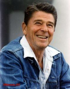 Рональд Рейган в джинсах