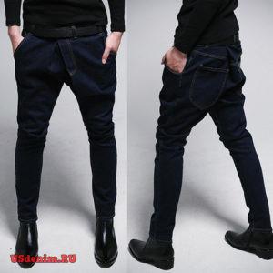 Мужские джинсы галифе