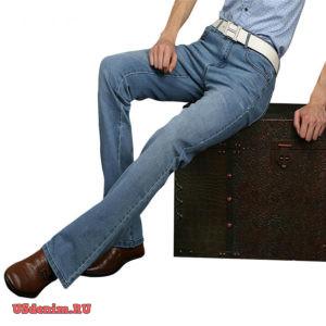 Мужские джинсы клеш