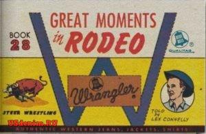 Реклама джинсов Wrangler