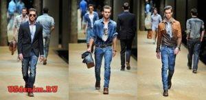 Стили мужских джинсов