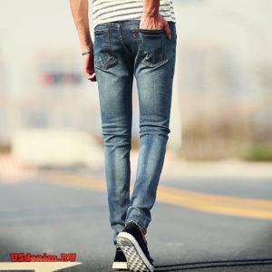 Узкие мужские джинсы
