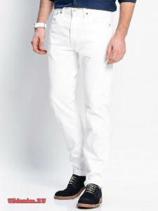 Белые и черные джинсы мужские