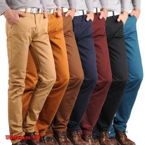 Мужские цветные джинсы