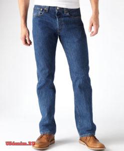 Levis 501 самая популярная модель джинсов в Мире