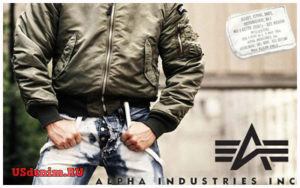 Одежда Alpha Industries (Альфа Индастриз)