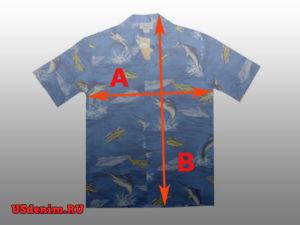 Размеры гавайских рубашек