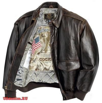 Куртки пилот Cockpit USA. Летная куртка «бомбер» 9798fcb23f3