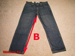 Данный размер джинсов зависит от вашего роста