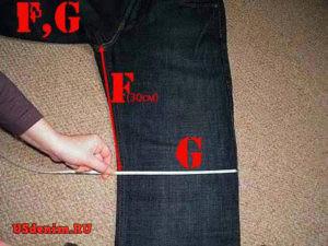 Таблица размеров джинс поможет определиться с размером