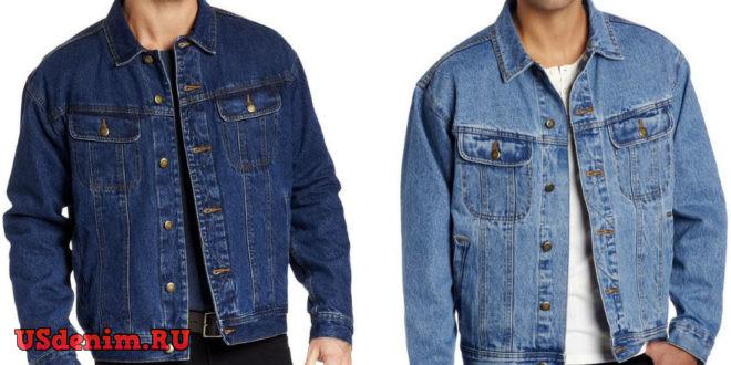 размер мужской джинсовой куртки